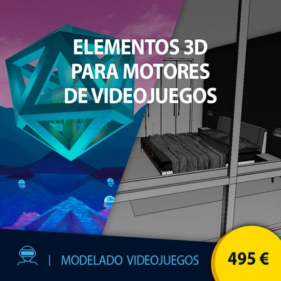 Curso online Elementos 3d para motores de videojuegos