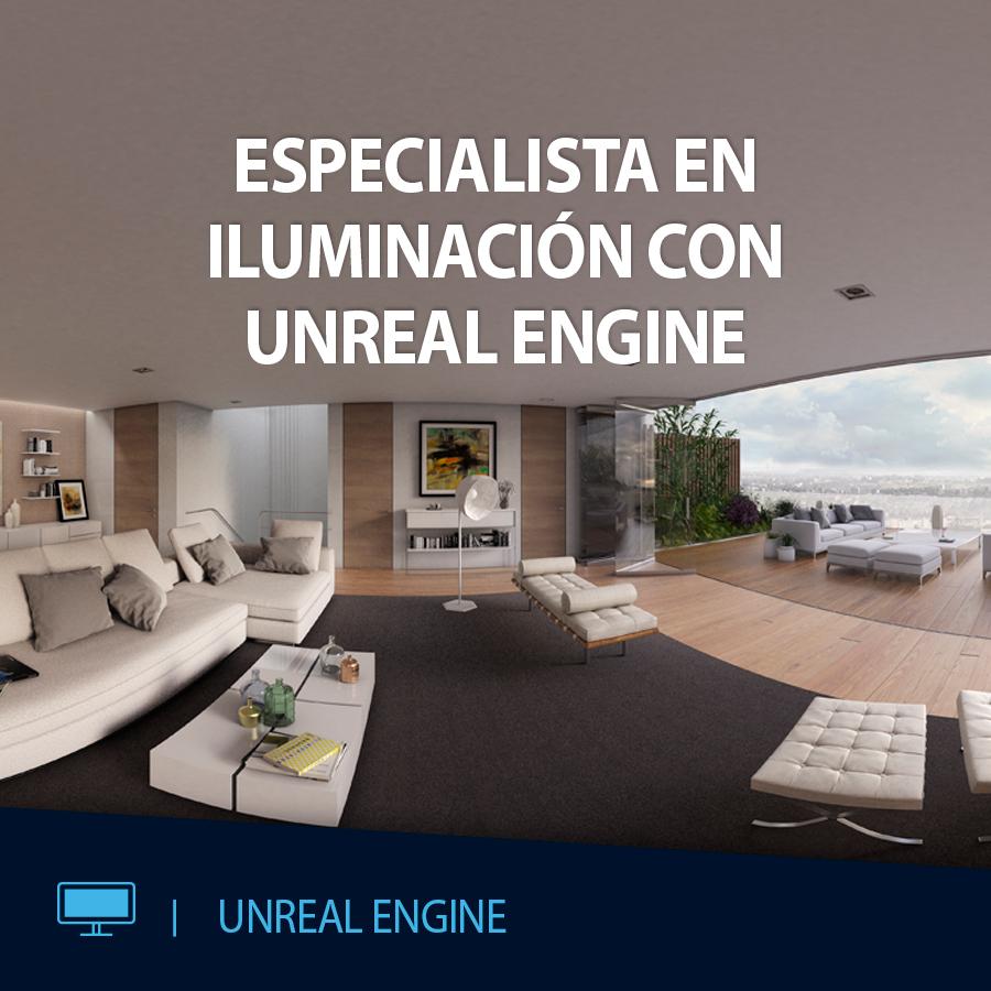 CURSO VR ESPECIALISTA ILUMINACION CON UNREAL ENGINE EDITECA