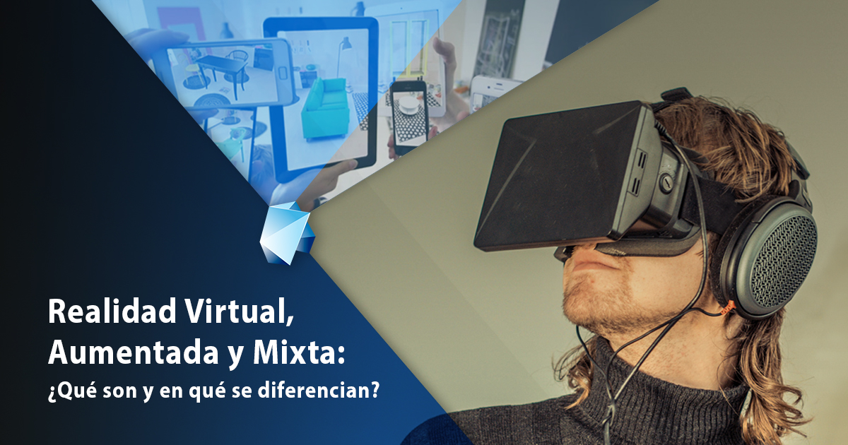 realidad virtual aumentada y mixta