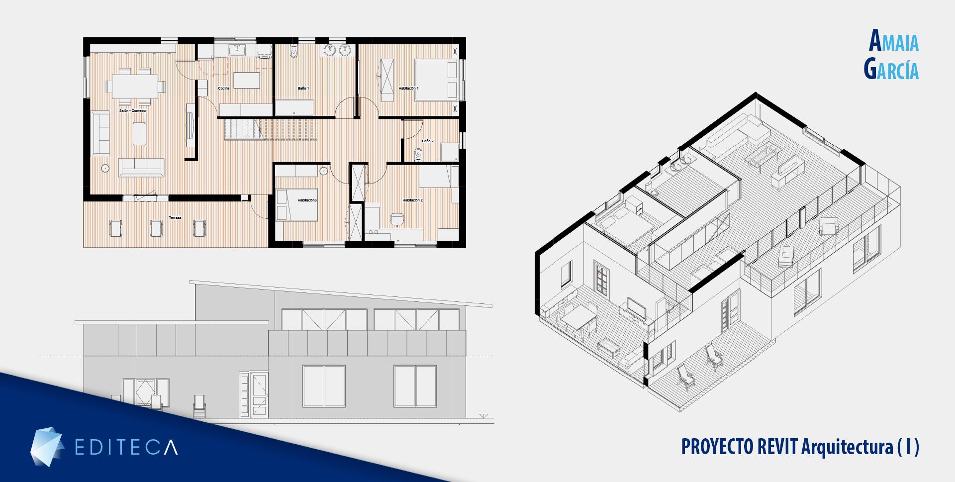 curso de revit arquitectura - Amaia