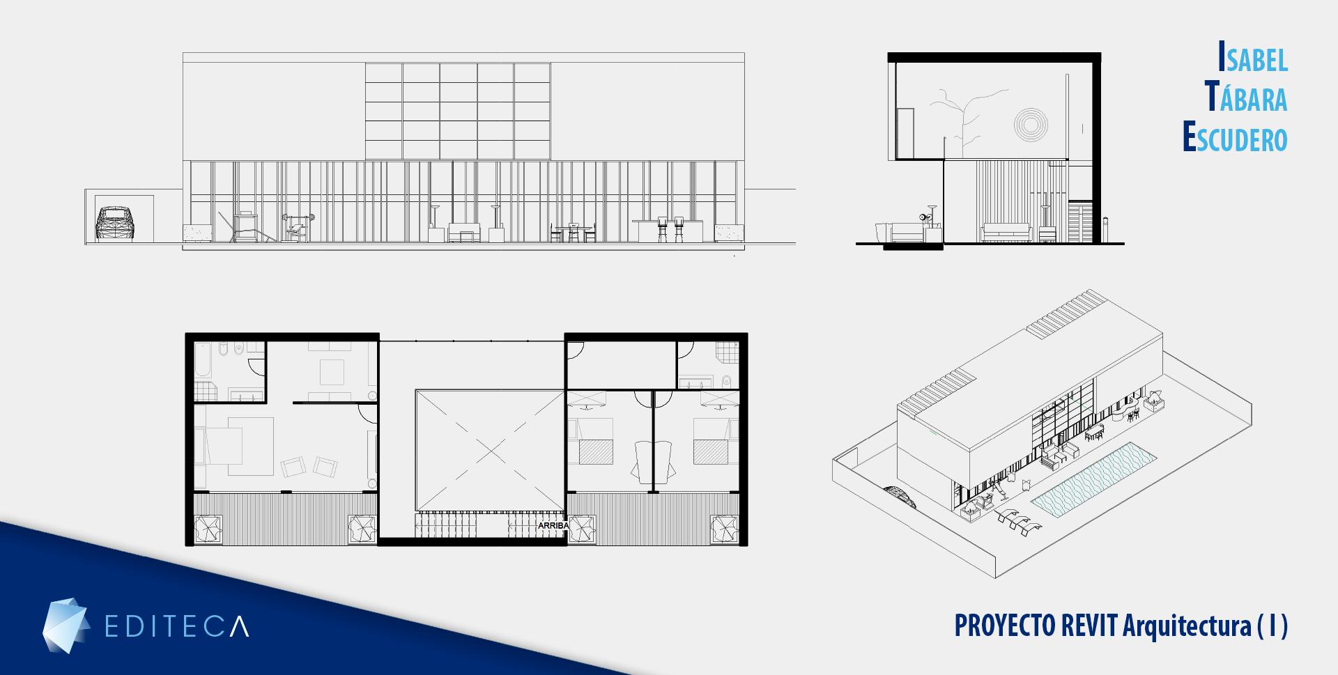 proyecto curso de revit arquitectura - Isabel