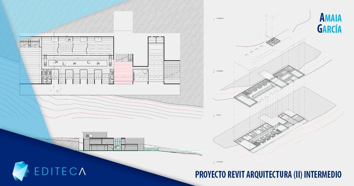 proyecto revit arquitectura (II) intermedio amaia garcía