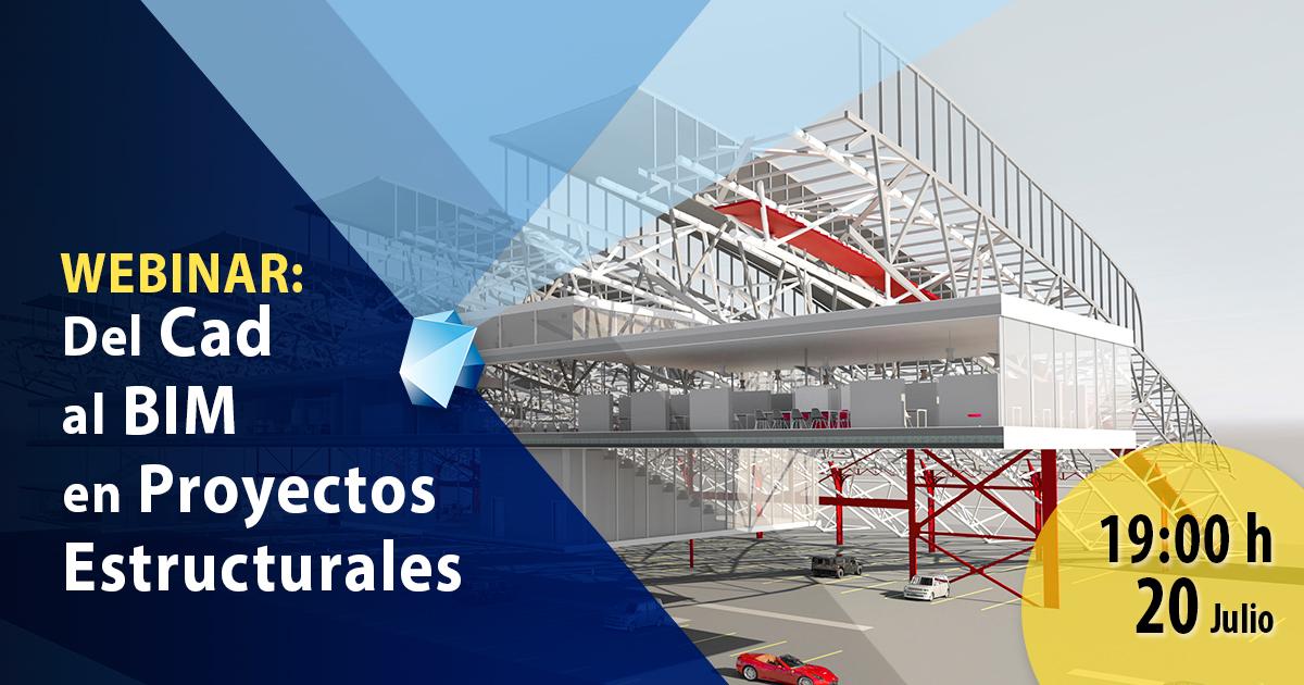 Del Cad al BIM en proyectos Estructurales