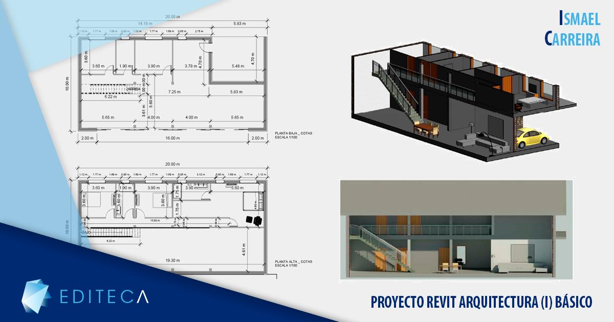 plantilla proyecto revit arquitectura (I) básico ismael carreira