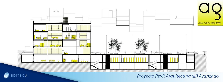 proyecto arquitectura avanzado amaia secciones