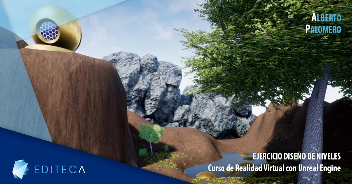proyecto diseño de niveles alberto palomero realidad virtual con unreal engine