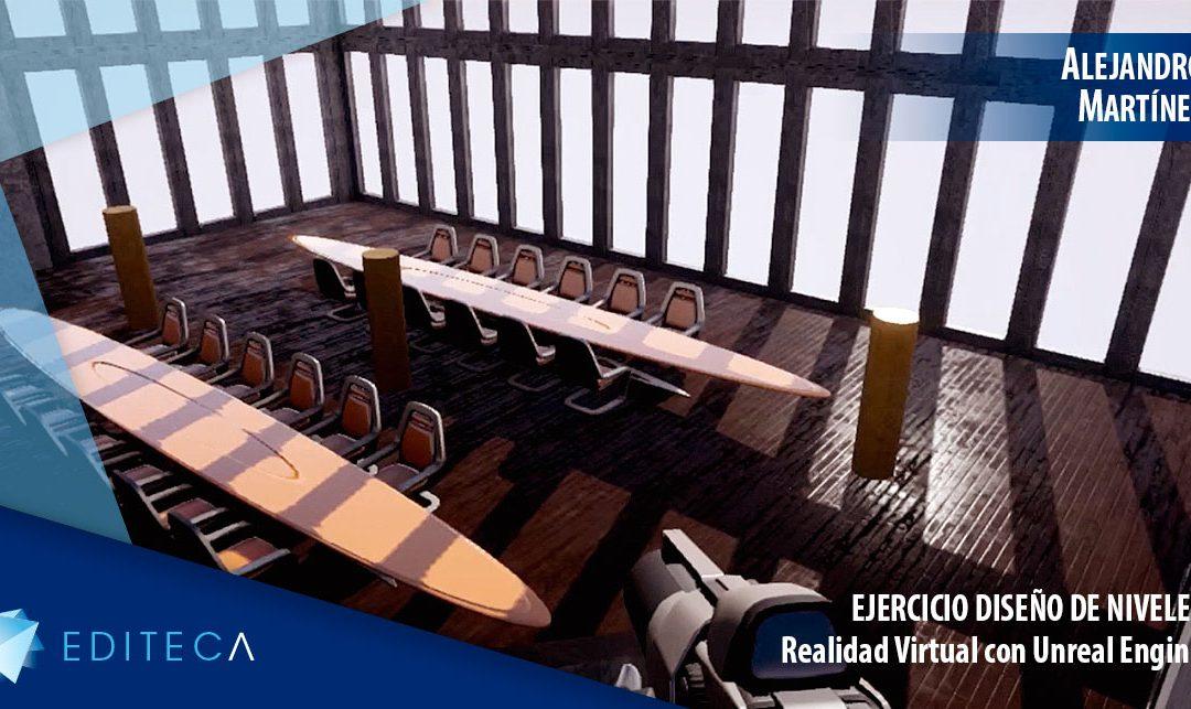 Ejercicio Unreal Engine – Diseño de niveles – Alejandro Martínez
