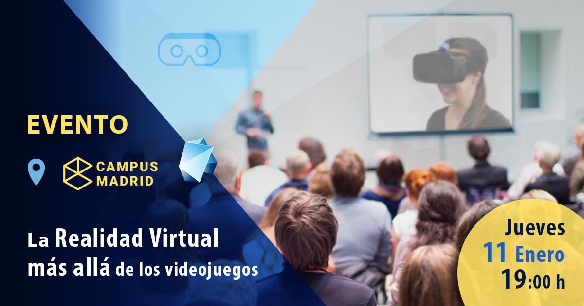 evento EDITECA la realidad virtual mas allá de los videojuegos