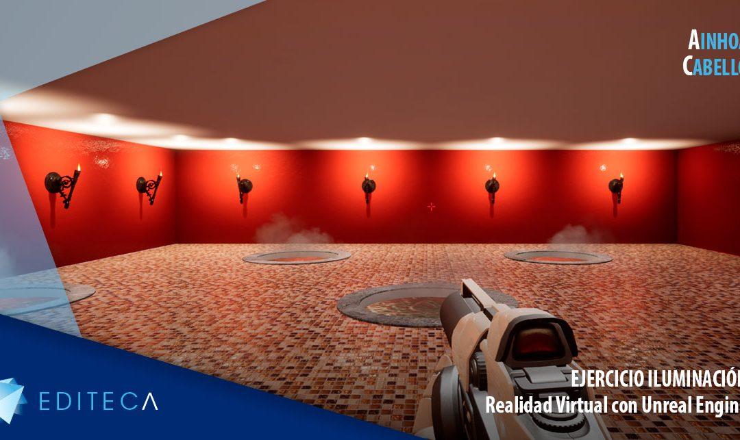 Ejercicio Unreal Engine – Iluminación – Ainhoa Cabello