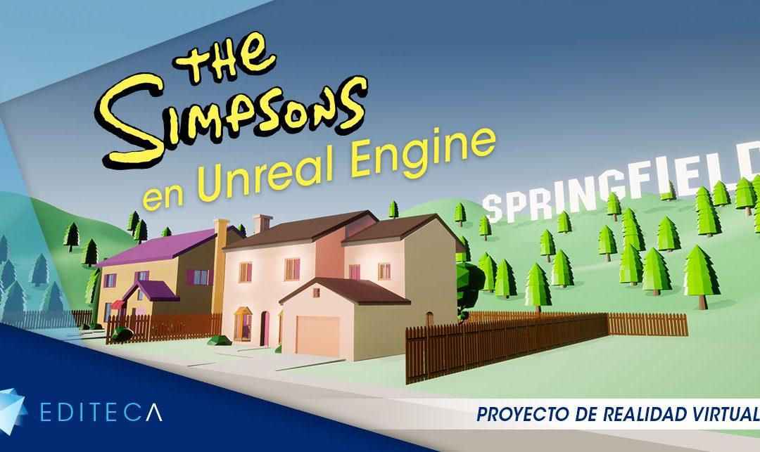 Proyecto VR: La casa de los Simpsons en Unreal Engine