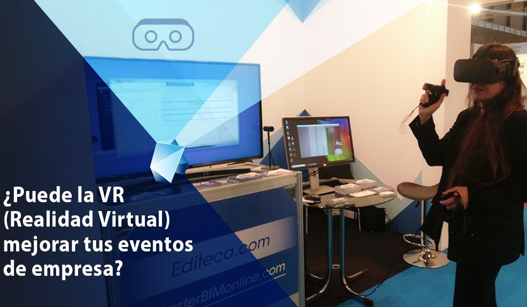 ¿Puede la Realidad Virtual mejorar tus eventos de empresa?