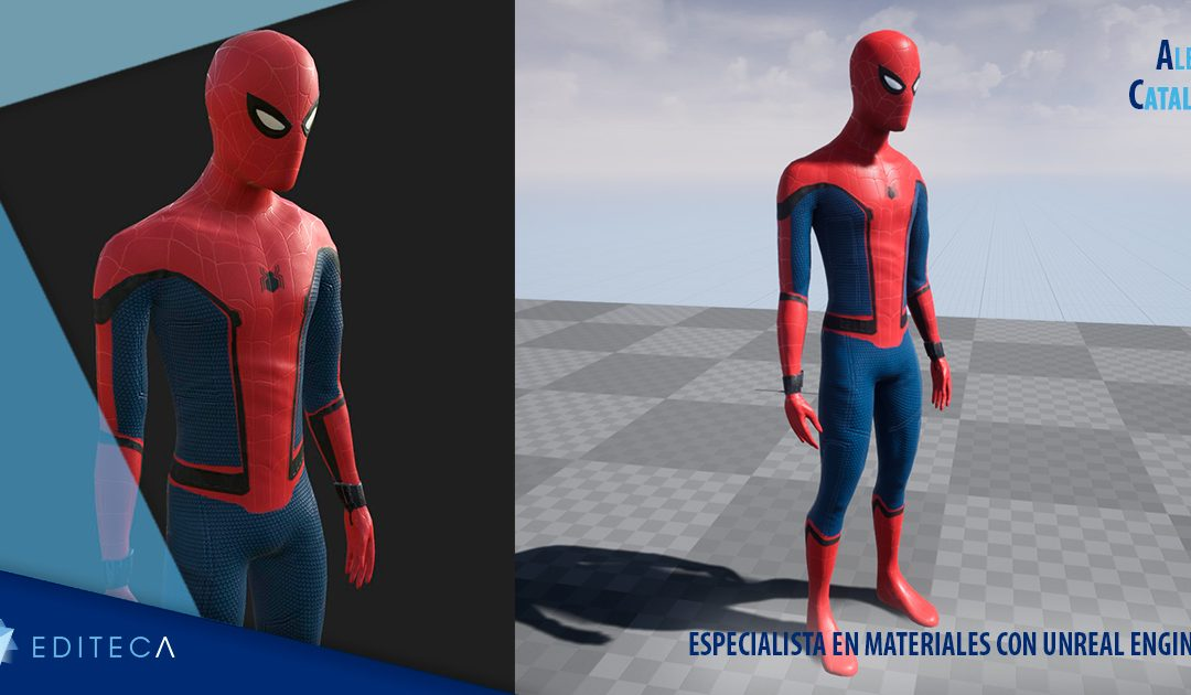 Unreal Engine : Proyecto Especialista en materiales con Alex Catalá