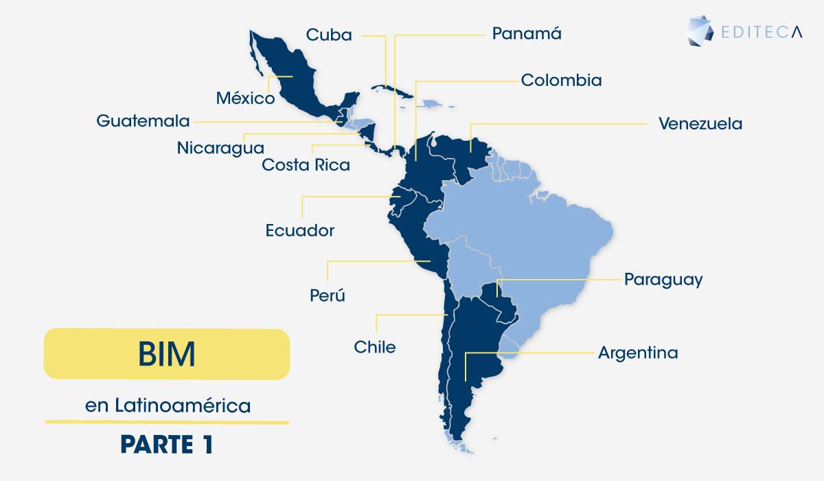 El estado del BIM en Latinoamerica - Parte 1 - Editeca