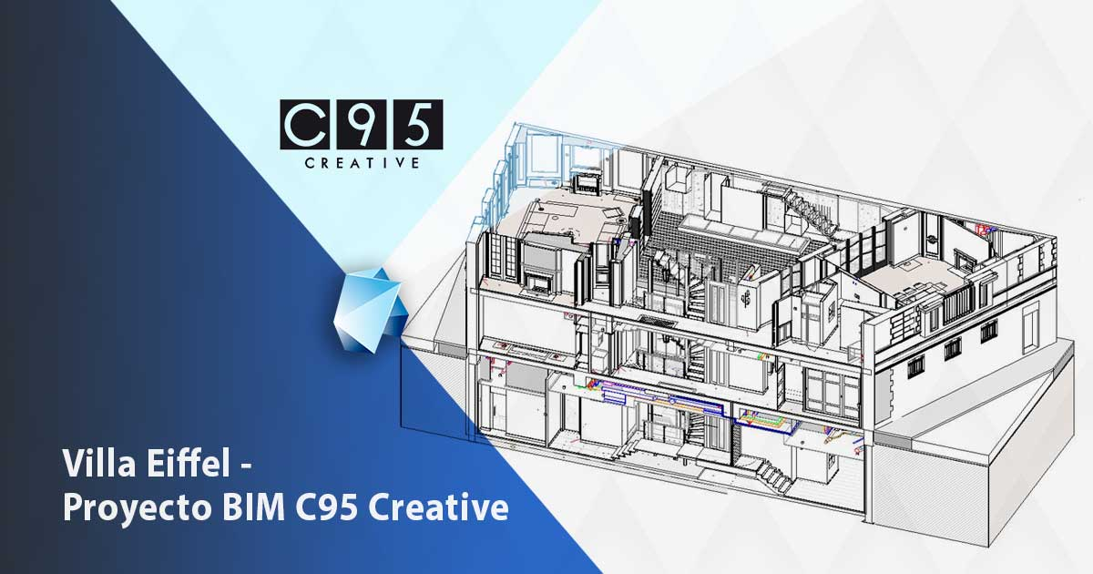 proyecto BIM editeca de c95 creative