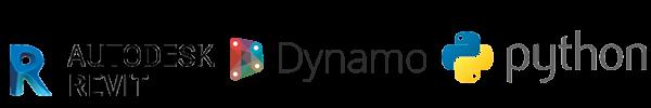 revit-dynamo-python-logos