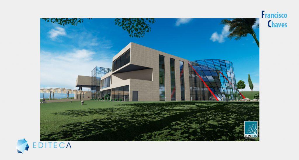 proyecto de lumion - Vista edificio