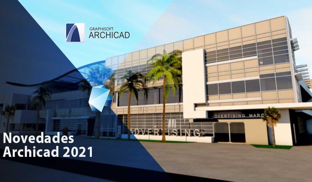 Novedades de Archicad 2021