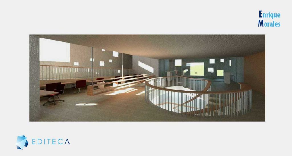 proyecto revit arquitectura intermedio-enrique-morales