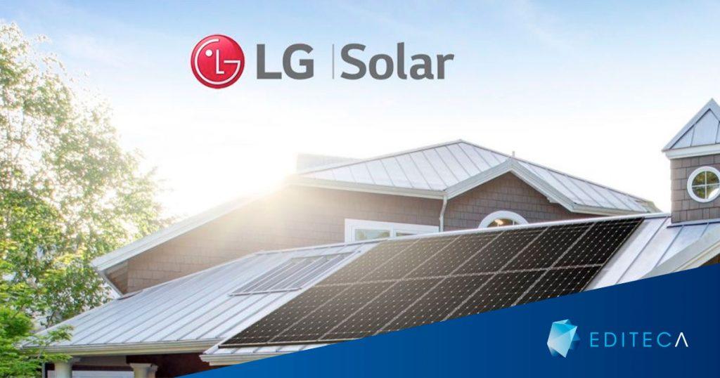 Energía solar LG