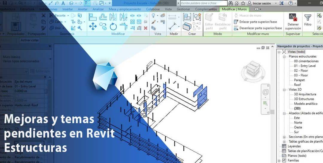 Mejoras y temas pendientes en Revit Estructuras