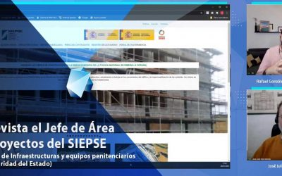Entrevista al Jefe de área de proyectos del SIEPSE
