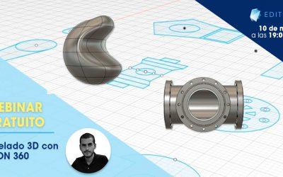 Modelado 3D con Fusión 360 con Daniel Pérez Montañez
