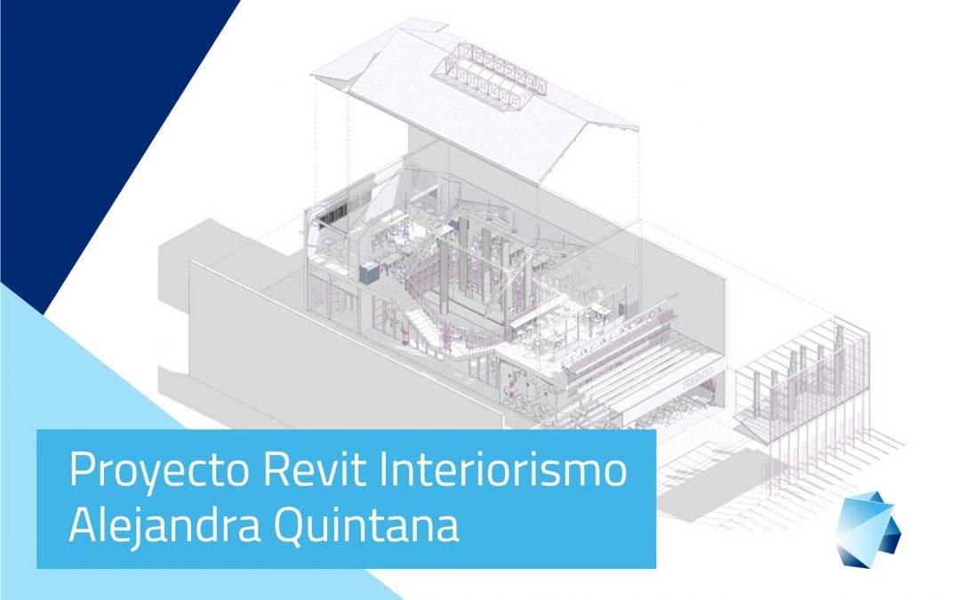 Proyecto Revit Interiorismo – Alejandra Quintana