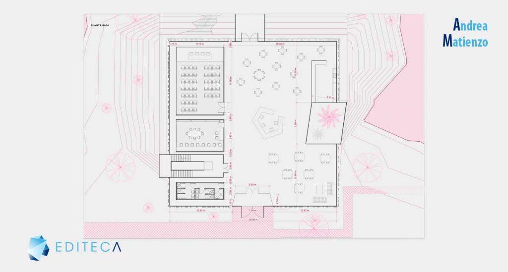 proyecto revit arquitectura intermedio-planta-baja