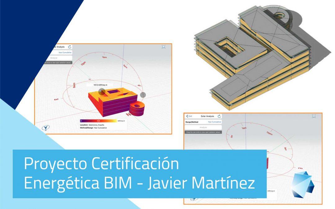 Proyecto Certificación Energética BIM – Javier Martínez Medina