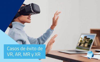 Casos de éxito de VR, AR, MR y XR