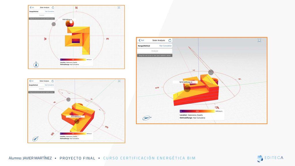 proyecto de Certificación Energética BIM-análisis