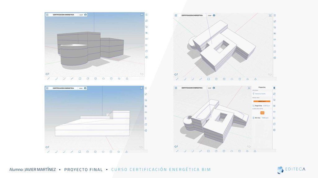 proyecto de Certificación Energética BIM-diseño