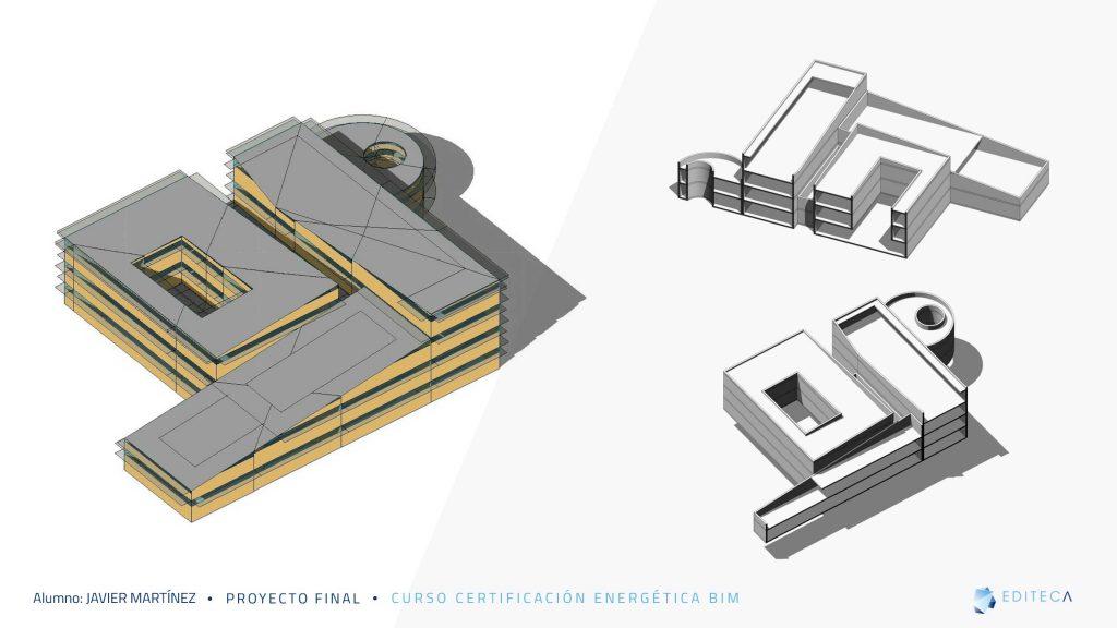 proyecto de Certificación Energética BIM-modelo