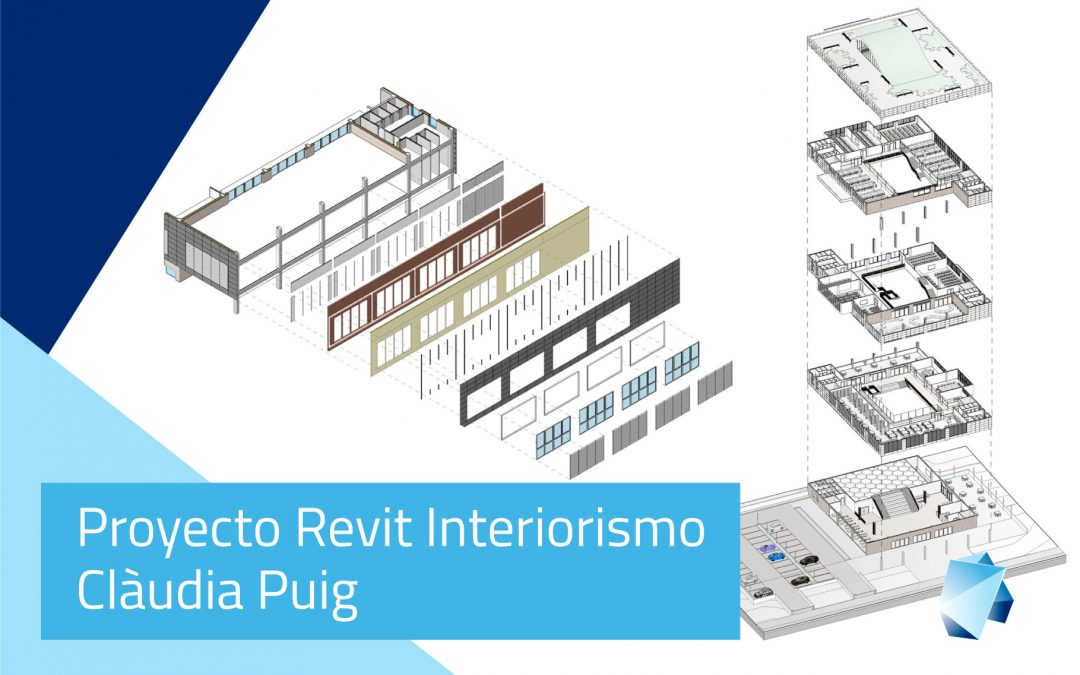 Proyecto Revit Interiorismo – Clàudia Puig