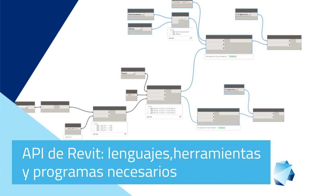 API de REVIT: Lenguajes, herramientas y programas necesarios