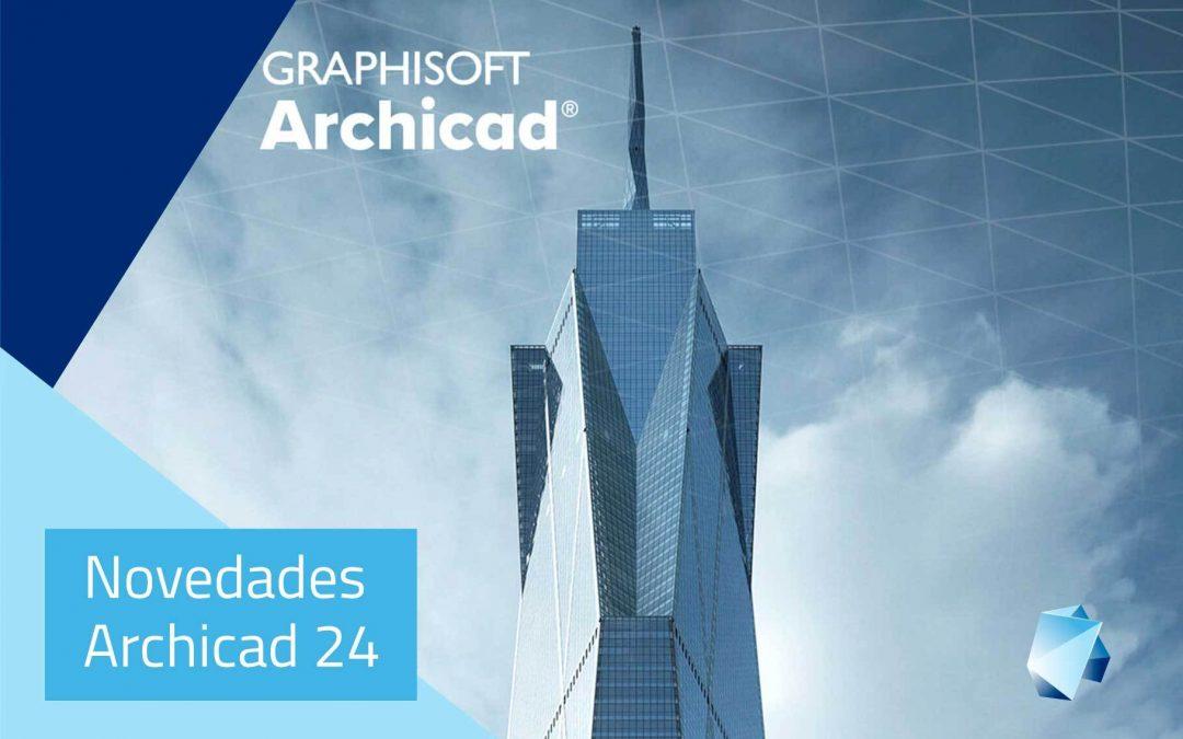 Novedades Archicad 24