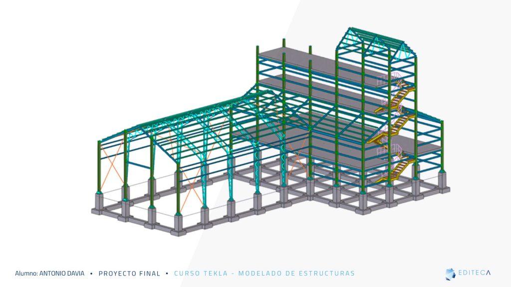 proyecto-tekla-planta-3d