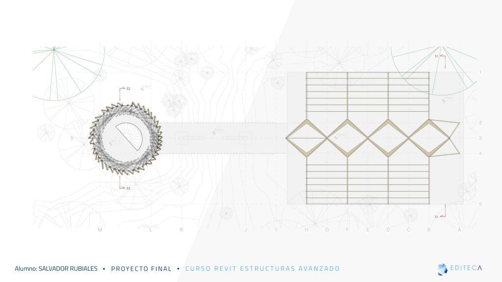 proyecto Revit Estructuras Avanzado - planta