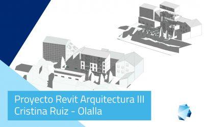 Proyecto Revit Arquitectura (III) Avanzado – Cristina Ruiz-Olalla