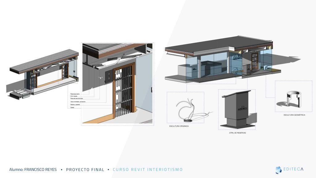 detalles-Proyecto proyecto revit interiorismo Francisco Reyes