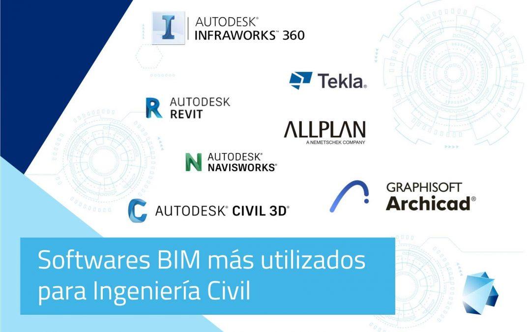 Softwares BIM más utilizados en Ingeniería Civil