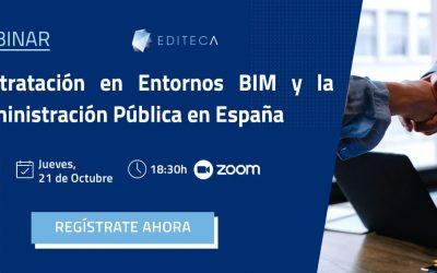 [Webinar] Contratación en Entornos BIM y la Administración Pública en España