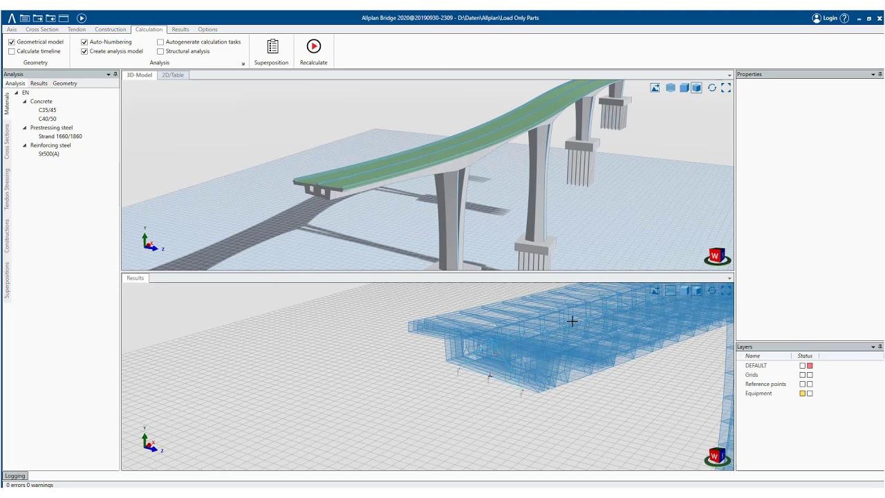 Ejemplo del software BIM de Allplan