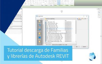 Tutorial descarga familias y librerías de Autodesk REVIT