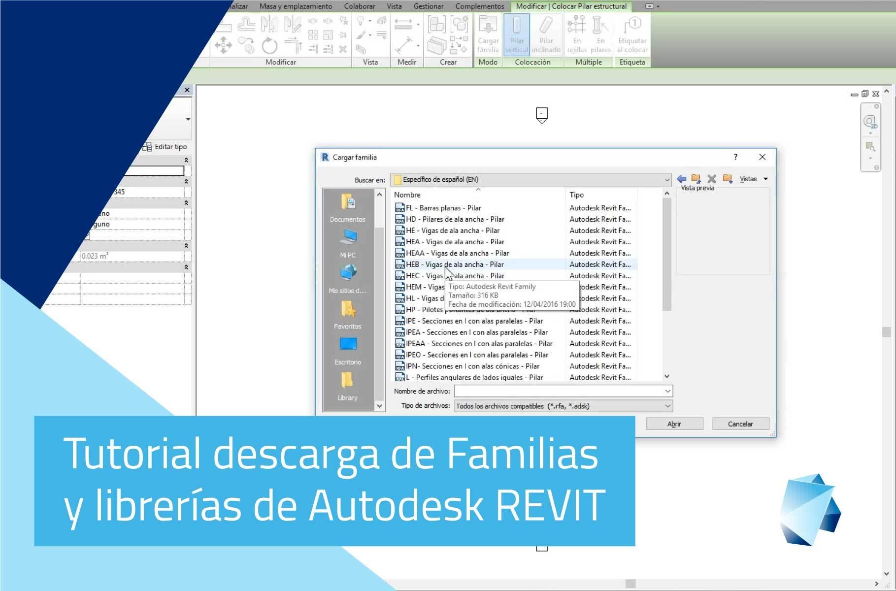 descargas-familias-Autodesk-Revit