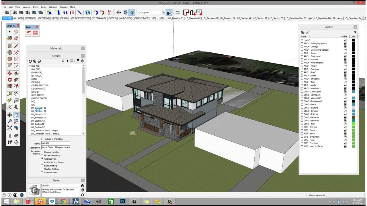 ejemplo software sketchup