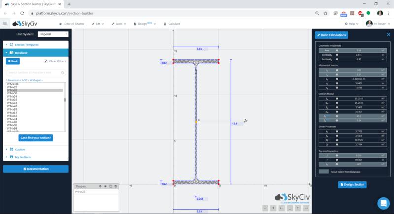Ejemplo software de SkyCiv